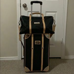 Joy Mangano Carry-On Luggage Set